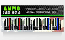 SPRINGFIELD XD / XDM 40 CAL Variety Pack - Magazine Base Plate Decal 6 PK