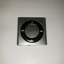Apple iPod Shuffle 4th Generation Silver A1373 MP3 Music player.