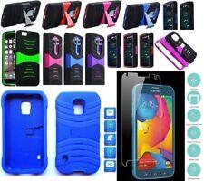 [ NP ARMOR ] GLASS Screen Guard + Phone Case For SAMSUNG S5 SPORT /SM-G860P G860