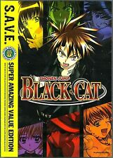 Black Cat: Complete Series. Great Action Anime! 4 DVD Set. New In Shrink!