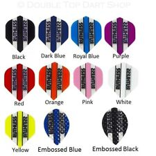 5 x Set Ruthless Extra Strong Dart Flights - Popular Colour and Clear Panels