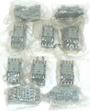 LOT OF 10 DAYTON 2A584E SOCKET RELAYS 7A 300VAC