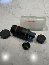 Celestron 18mm X-Cel eyepiece 1.25 With Moon Filter End Caps & Carry Case