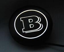 Smart 450, 451, 453, 454 - Logo LED Brabus à hayon arrière D = 60 mm - génial!