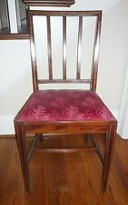 INLAID MAHOGANY 1800's CHAIR- $65 Shipping by Greyhound Express