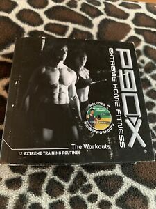 P90X Extreme Home Fitness The Workouts 12 Routines (13 Disc DVD)