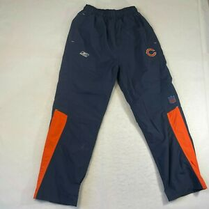 Reebok Mens Medium Blue Orange Bears Logo Insulated Sweatpants Team Apparel Nice