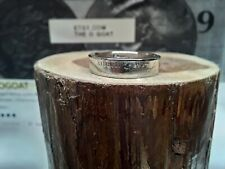 """"""" 1974 """" Size 6 3/4 Custom Made Coin Ring U.S. Dated Nickel"""