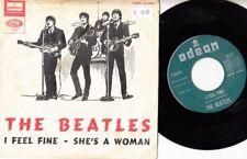 "THE BEATLES I Feel Fine - Spanish 7"" single 45 paper cover sleeve Spain 1964"