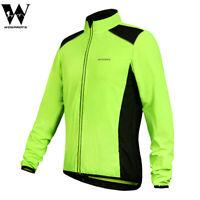 Giacca antivento uomo bicicletta Cappotti maglia visibilità giacca Bike Jersey