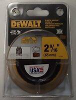 """DeWalt DWA1841 2-9/16"""" (65mm) 2X Hole Saw USA"""