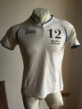 Maglia asics maratona d'europa #12 shirt runner running jersey camisa corsa
