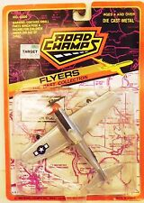 """Road Champs Flyers Diecast P-47  """"Lil Friend"""" of 56th Fighter Group Mint on Card"""