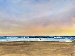 "'Calm Place', Oil On Box Canvas, 24""x18"", 19/10/21, Rob Parkinson."