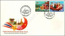 40 years Diplomatic Relations to Thailand -FDC(I)-I-