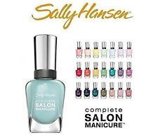 Sally Hansen Salon Manicure Nail Polish Set Of 10 - Assorted