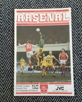 Arsenal v Tottenham 1982 First Division 12/4/82! FREE UK POSTAGE! LAST ONE!