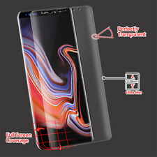 Screen Protector For Samsung Galaxy Note 9 Curved FULL COVERAGE LCD Guard Clear