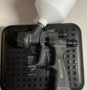 Walcom Carbonio 360 Light HTE Clear 1.2 Spray Gun (Sata5500,Iwata ws400,Sagola)
