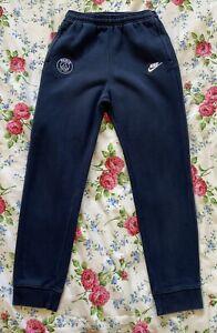 Large Boys Navy Blue Nike Jogging Bottoms Saint Germain Age 12-13yrs