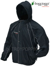 1-FROGG TOGGS RAIN GEAR-NHT65115 HORNY TOADZ JACKET MOTORCYCLE REFLECTIVE RIDING