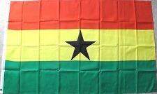 GHANA POLYESTER INTERNATIONAL COUNTRY POLYESTER FLAG 3 X 5 FEET