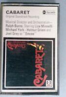 Cabaret original soundtrack cassette tape 1972