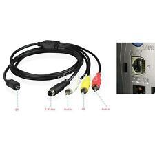AV A/V TV DVD Receiver Video Cable For SONY Camcorder Handycam Camera DCR HDR AU