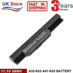 NEW battery pack A32-K53 A41-K53 for ASUS X53 K53S X53E K53 K53E X54C X53S UK
