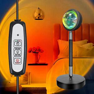 Sunset Lamp Sunset Projector Night Light Decor Atmosphere Photography Background