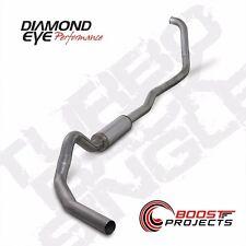 """Diamond Eye T409 Stainless 4"""" Turbo-Back Exhaust System Kit K4346S"""