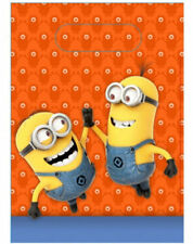 DESPICABLE ME MINIONS PARTY SUPPLIES LOOT LOLLY BAGS PACK OF 6