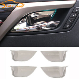 For Lexus NX NX200T NX300H 2015-2021 stainless inner door bowl Decor cover trim