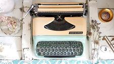 Vintage Consul 232 Reise Schreibmaschine typewriter mint grün 50er 60er Koffer
