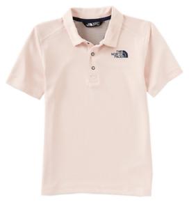 The North Face Little/Big Boys 5-20 Horizon Stripe Short Sleeve Polo Size L