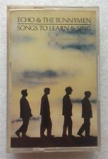 More details for  echo & the bunnymen songs to learn & sing 1985 cassette wea korova 13 240 767-4