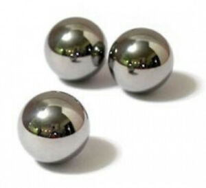 Three Replacement Steel Balls for BRIO Labyrinth. Free Shipping