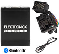 Adapter USB MP3 AUX Bluetooth Freisprechanlage BMW Rundpin