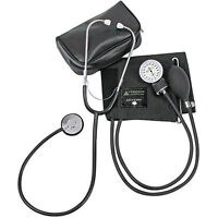 BRAND NEW ADULT BP CUFF Blood Pressure KIT with MATCHING SEPARATE STETHOSCOPE !