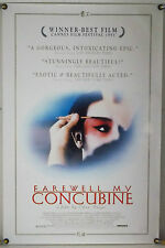 FAREWELL MY CONCUBINE ROLLED ORIG 1SH MOVIE POSTER GONG LI LESLIE CHEUNG (1993)