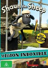 Shaun the Sheep: Mission Inboxible R4 DVD NEW