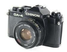 Chinon CA-4 35mm SLR Film Camera & 50mm Lens