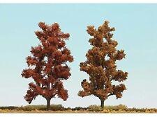 Busch 6755 HO (1/87e) Bomenset: 2 Loofbomen, herfstrood/bruin (150mm hoog)