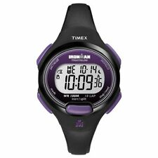 Timex T5K523, Women's 10-Lap Ironman Triathlon Resin Watch, Alarm, Indiglo,