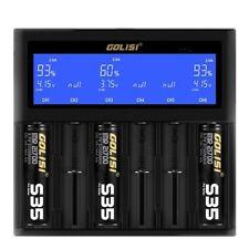 Golisi Smart S6 Ladegerät - 26650 / 20700 / 21700 / 18650 / 18700 / 186500