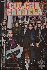 CULCHA CANDELA - A3 Poster (ca. 42 x 28 cm) - Band Clippings Fan Sammlung NEU