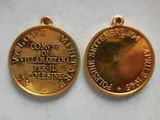 medaglia al valore militare comune di Villamarzana Polesine resistenza 1943 1945