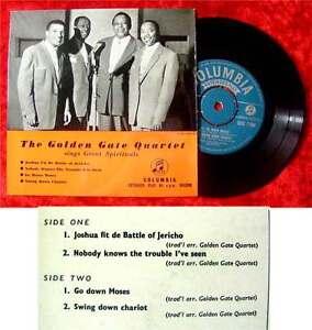 EP Golden Gate Quartet sings Great Spirituals