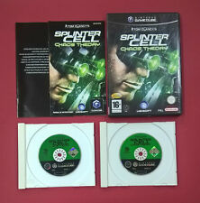 Tom Clancy's Splinter Cell Chaos Theory - NINTENDO GAMECUBE - MUY BUEN ESTADO