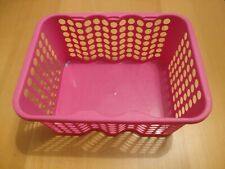 Small pink storage basket (EXCELLENT CONDITION)